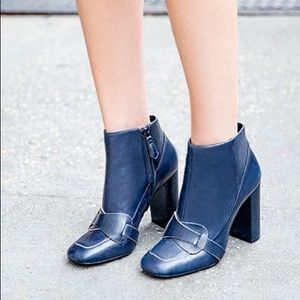 Tory Burch Bond Bootie - Navy